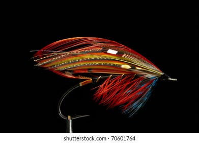 Fly fishing flies / lures for salmon