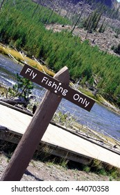 Fly Fishing Sign