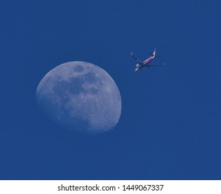 Fly me to the Moon.Our destination is the Moon.Moon trip of a life time.