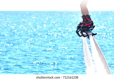 Flyboarding and seariding