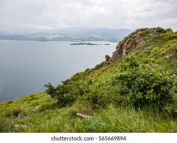 Flying dogs Island, Lake Kivu - Ruanda, africa