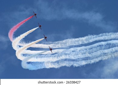 Flying formation turn