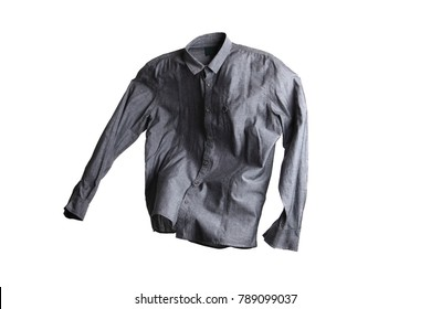 Flying grey shirt