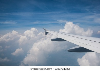 Flying into clouds with an airplane