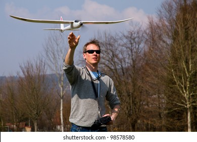 flying with a model plane