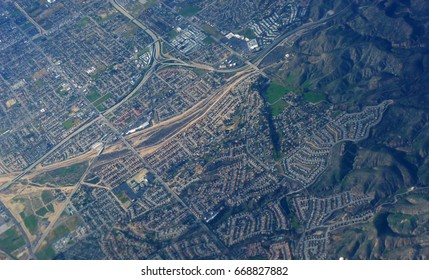 Flying over Chino