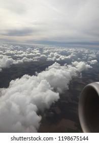 Flying over Clowd