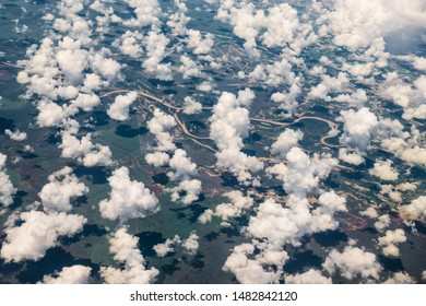 Flying over Normanton region, Queensland