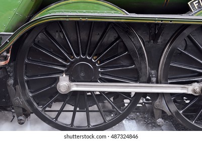 Flying Scotsman Close Up
