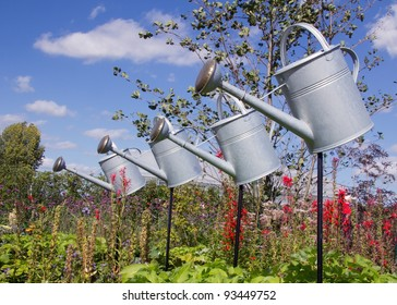 flying watering cans