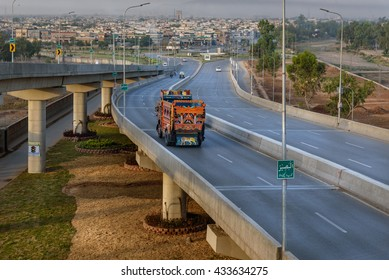 The flyover in Peshawar Pakistan would regulate traffic flow on Pak-Afghan highway.
