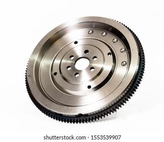 Flywheel car. Gear detail clutch part