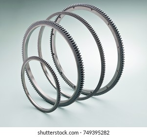 flywheel rings for automobiles or engines or industry