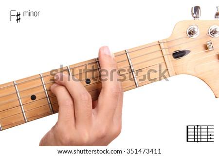 Fm Basic Minor Keys Guitar Tutorial Stock Photo (Edit Now) 351473411 ...