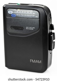AM FM Stereo Portable Radio Cassette Audio Music Player