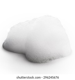 foam Isolated on white background