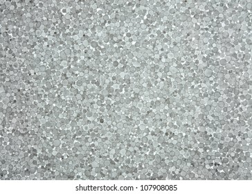 foam plastic closeup. Polystyrene foam texture