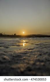 Foamy Sunrise