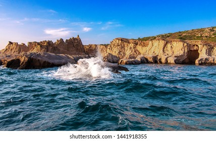 foca siren rocks, mythological and geographically important point