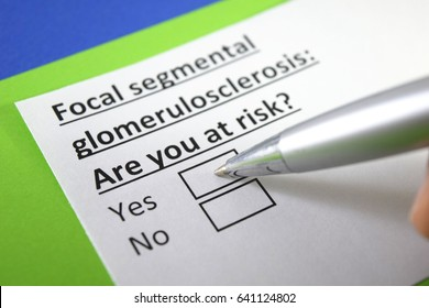 Focal segmental glomeruloserosis: are you at risk? Yes or no