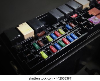 fuse box images stock photos vectors shutterstock rh shutterstock com car fuse box making a buzzing noise car fuse box ground