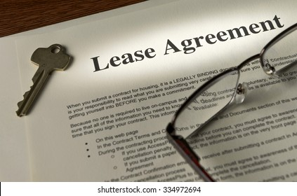 focus on commercial lease agreement