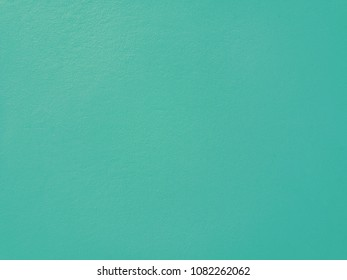Focus on a turquoise wall