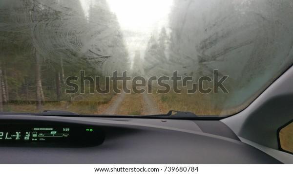 Fog car window