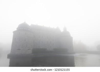 Fog castle background