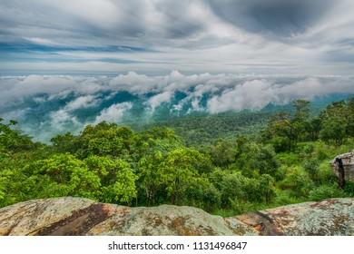 Fog on the mountain