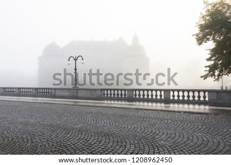 Fog over the bridge