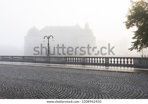 Fog over the bridge