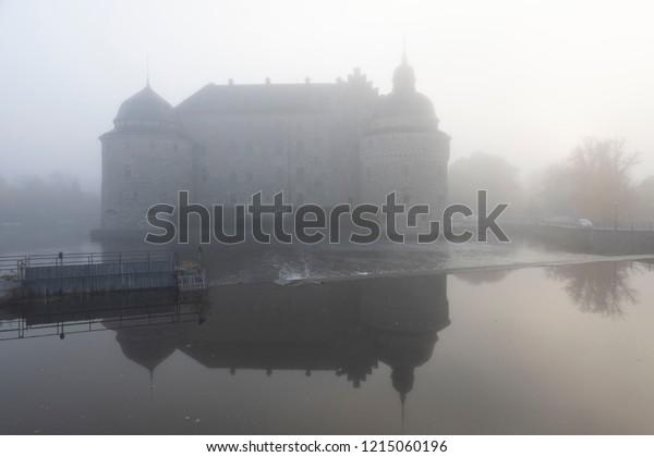 Fog town background