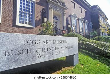 Fogg Art Museum, Cambridge, Massachusetts