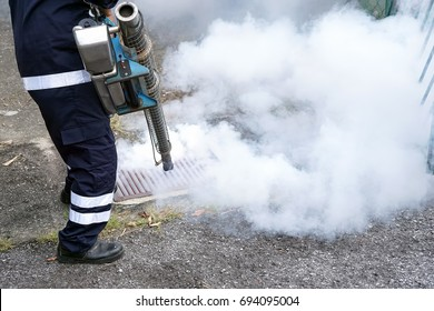 Fogging by the public health for dengue control