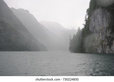 Foggy Day at the Lake Königssee