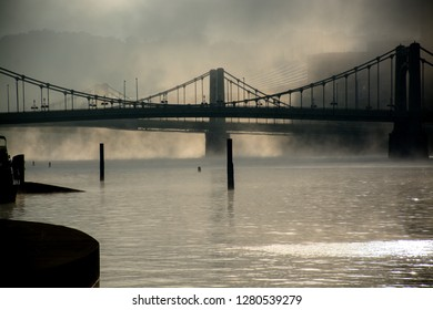 A foggy morning in Pittsburgh