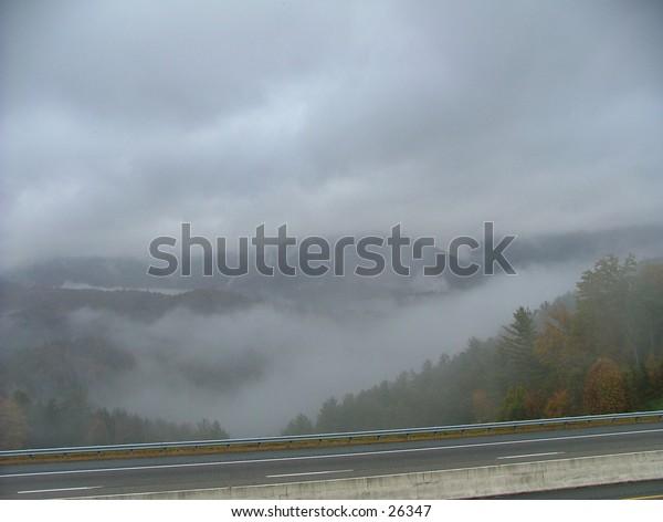 Foggy Smokey Mountains