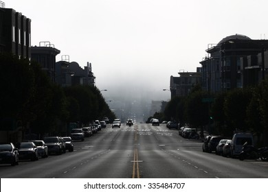 Foggy Street in San Francisco
