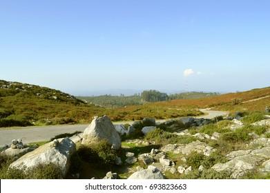 Foia the highest mountain of Algarve, Portugal