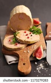 foie gras and fig