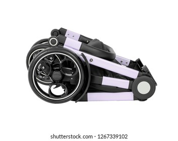 fold able stroller and baby carrier