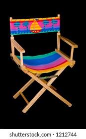 Fold Out Beach Chair - Angle