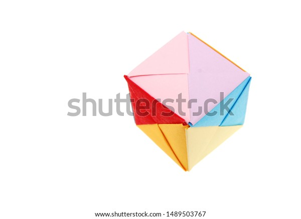 How To Make an Origami Magic Rose Cube (Valerie Vann) - YouTube | 438x600