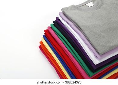 Folded shirt