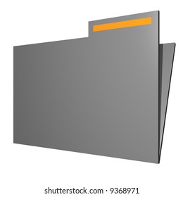 Folder for business office symbols for diagrams and presentations