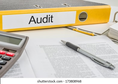 Folder with the label Audit