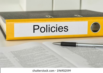 Folder with the label Policies