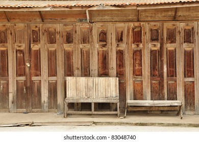 Folding Door thai style & The Entrance Door To The Thai House Images Stock Photos u0026 Vectors ...