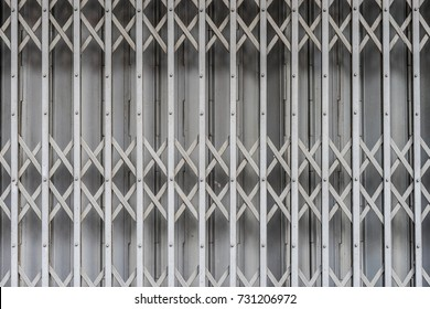 Folding metal door gate Thai vintage style. Pattern texture surface and background of & Zinc Doors Stock Images Royalty-Free Images \u0026 Vectors | Shutterstock